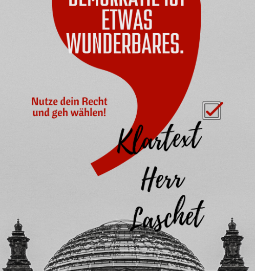 """Arbeitsbedingungen in Callcentern bei """"Klartext Herr Laschet"""" im ZDF – 09.09.2021"""